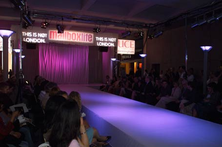Mailbox Retail Complex transformed into fashion show